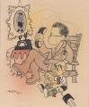 Braťkova karikatura z roku 1947